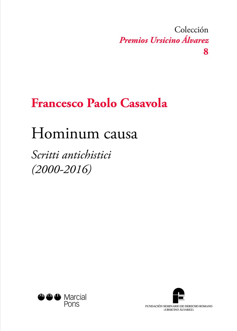 Hominum causa librer a bosch - Libreria marcial pons barcelona ...