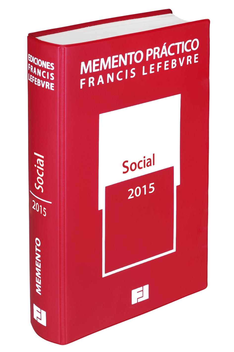 Memento práctico social 2015 Librería Bosch